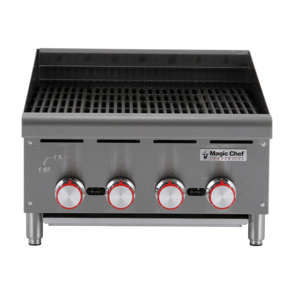 Magic Chef Commercial 24 in. Countertop Radiant Charbroiler