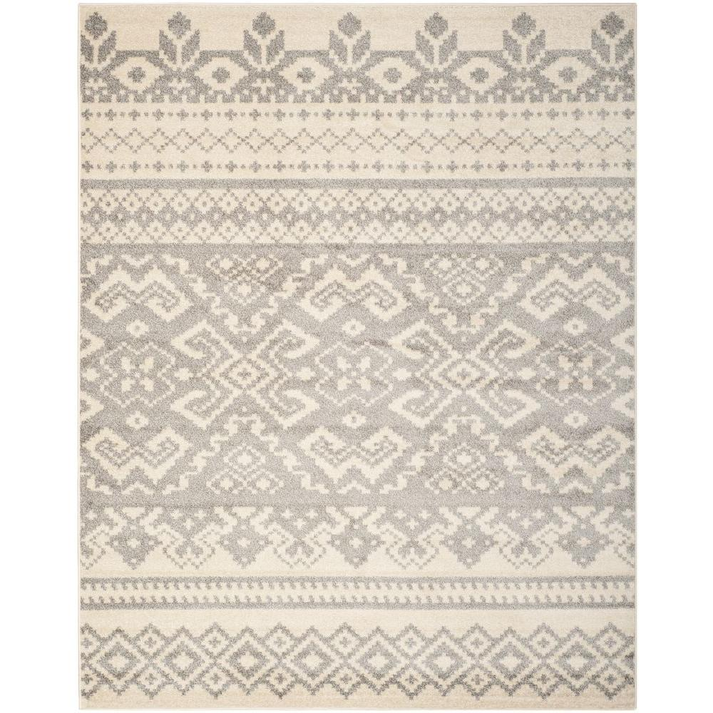 This Review Is From Adirondack Ivory Silver 10 Ft X 14 Area Rug