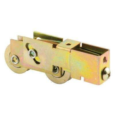 Sliding Door Tandem Roller Assembly, 1-1/8 in. Steel Ball Bearing, 3/4 in. x 1 in. Housing