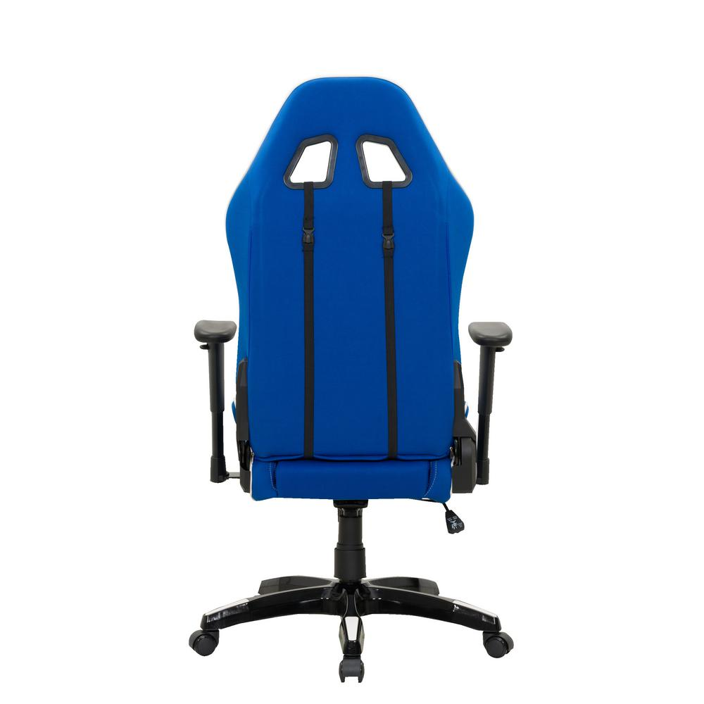 Blue and Green High Back Ergonomic Office Gaming Chair with Height