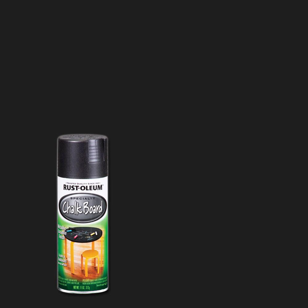 Rust-Oleum Specialty 11 oz. Chalkboard Flat Black Spray Paint