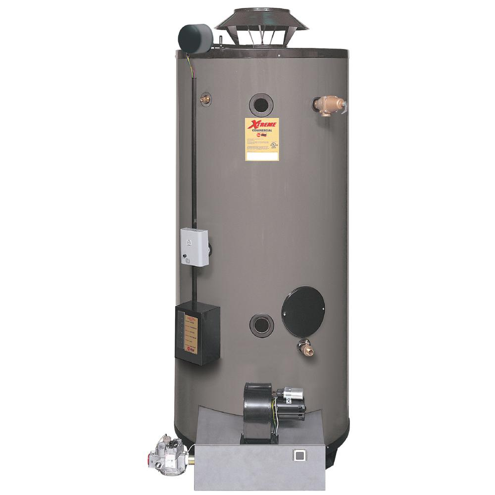 Commercial Xtreme Heavy Duty 90 Gal 550K BTU Natural Gas Tank Water Heater