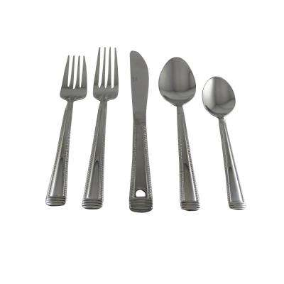 Rope 20-Piece Stainless Steel Flatware Set