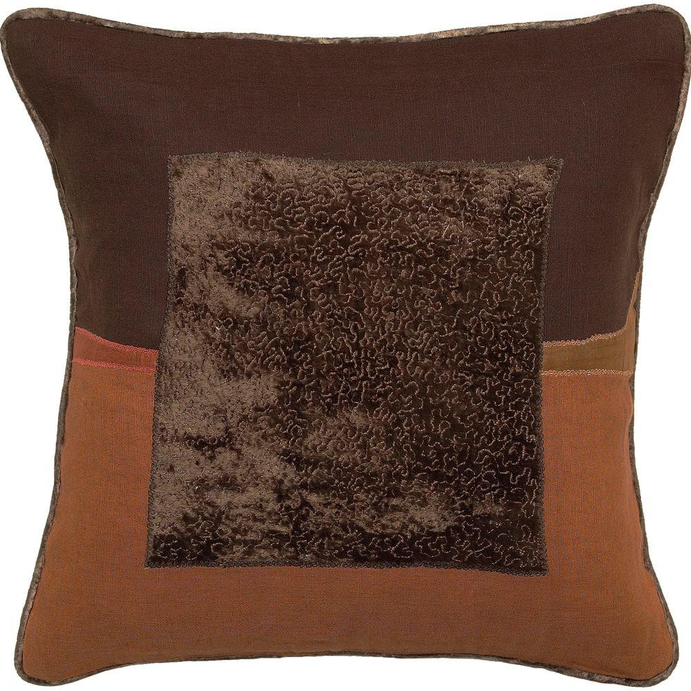 Decorative Down Pillows : Artistic Weavers Square1 18 in. x 18 in. Decorative Down Pillow-Square1-1818D - The Home Depot