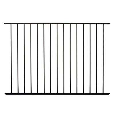 Meriden 4 ft. H x 6 ft. W Aluminum Fence Panel