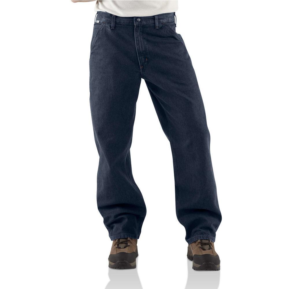 NEW Mens Carhart Denim Carpenter Jeans Size 44 x 30 NEW