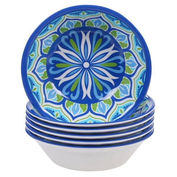 Certified International Morocco Multicolor All Purpose Bowl (Set of 6)