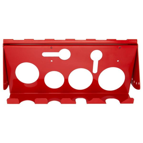 13.25 in. W Steel Adjustable Power Tool Rack for RX and DX Series Extreme Power Workstation Hutches in Red