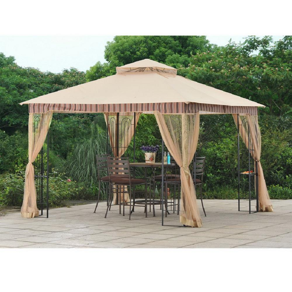 Sunjoy Replacement Canopy Set For L Gz747pst A 10x10 Lansing Gazebo