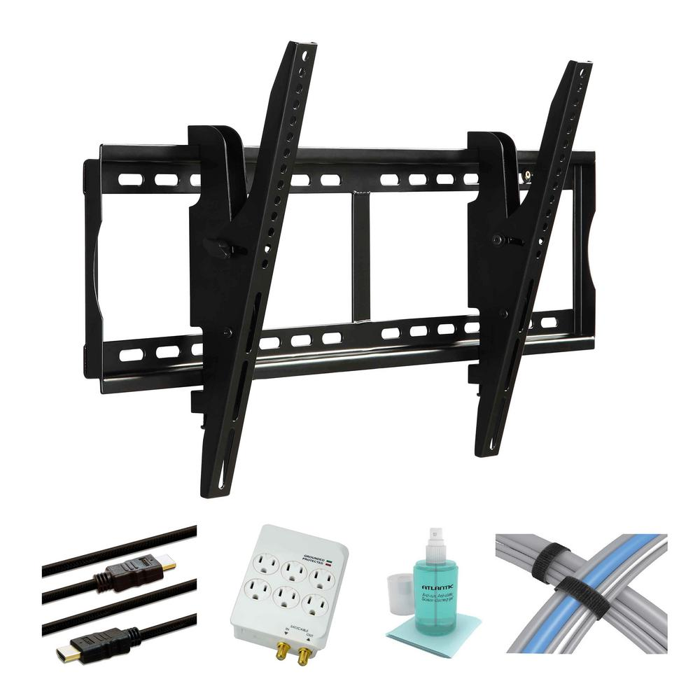 Atlantic 37 in. to 70 in. Tilting TV Mount Kit with Hdmi ...