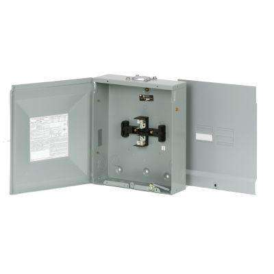BR 125 Amp 4-Space 8-Circuit Outdoor Main Lug Loadcenter with Cover