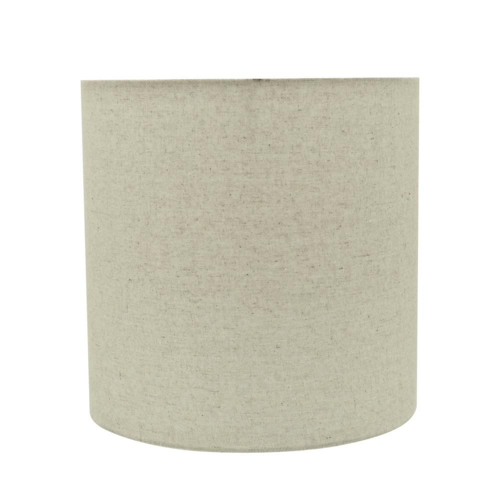 Grey Drum Cylinder Lamp Shade