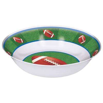13 in. x 3.5 in. Football Serving Bowl