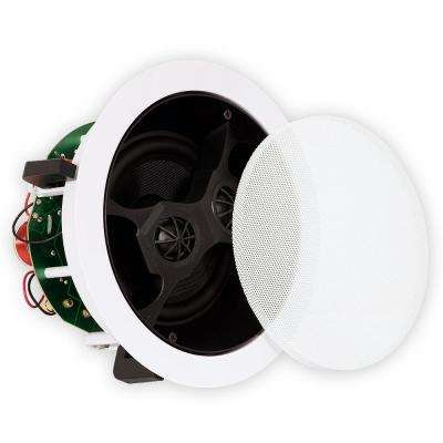 In-Ceiling 6.5 in. Stereo Home Speaker Whole House Audio