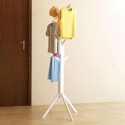 Yaotai White Tree-Shape Coat Rack
