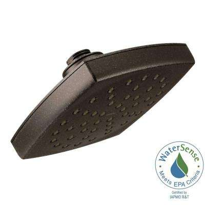 Voss 1-Spray 6 in. Eco-Performance Rainshower Showerhead Featuring Immersion in Oil Rubbed Bronze