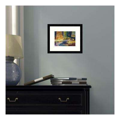 11 in. W x 9 in. H '588 Abstract' by Lisa Fertig Printed Framed Wall Art