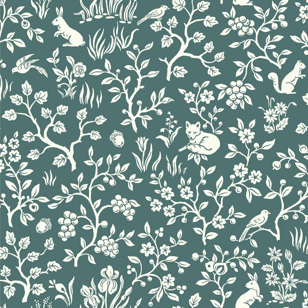 Magnolia Home By Joanna Gaines 56 Sq Ft Fox And Hare Wallpaper