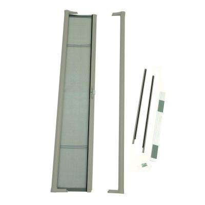 36 in. x 78 in. Brisa Sandstone Short Height Retractable Screen Door