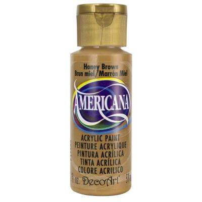 Americana 2 oz. Honey Brown Acrylic Paint