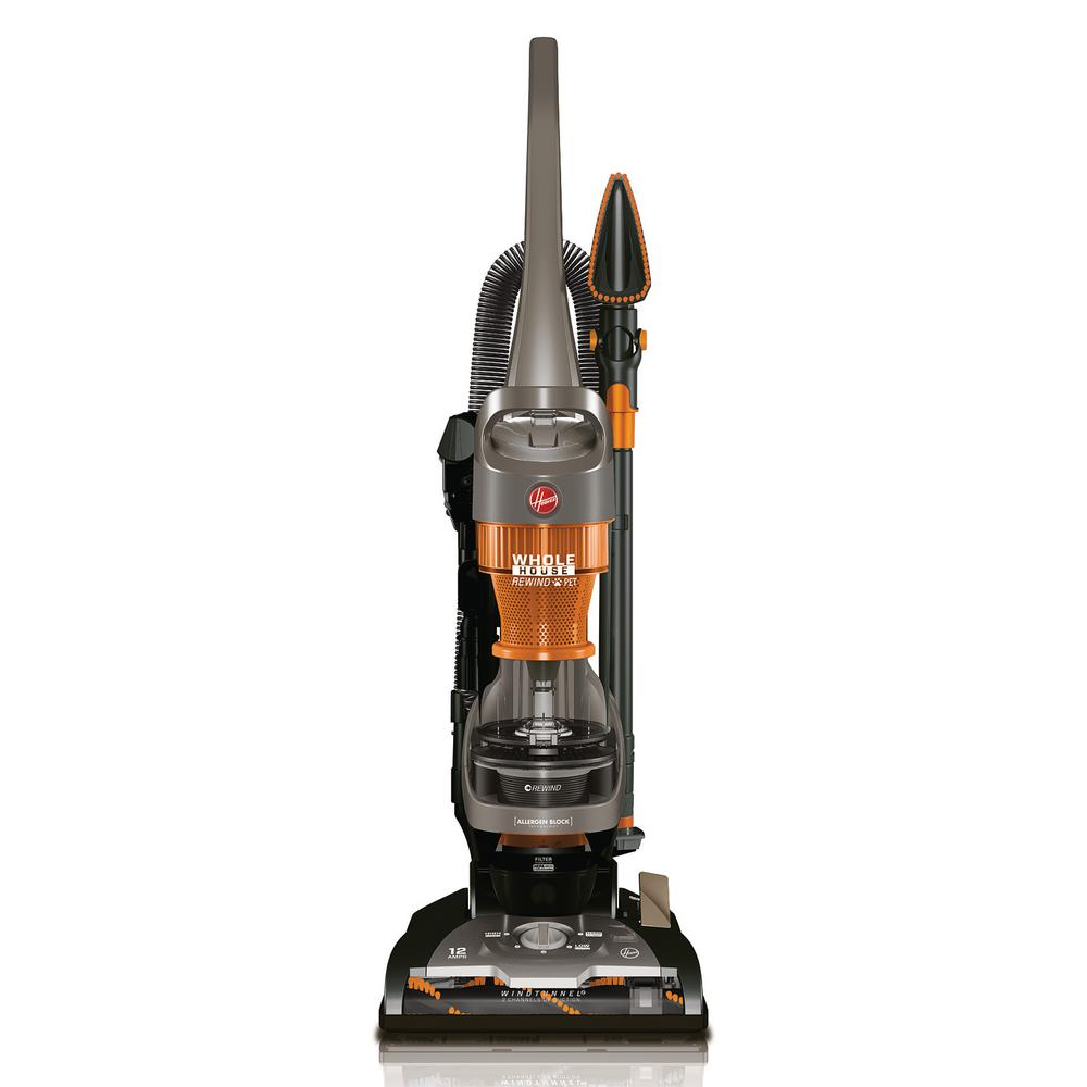 Hoover WindTunnel 2 Whole House Rewind Pet Bagless Vacuum Cleaner