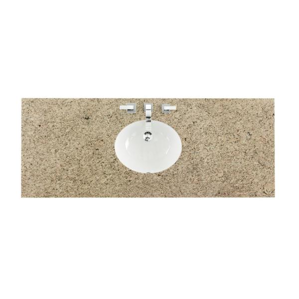 W Granite Single Basin Vanity Top