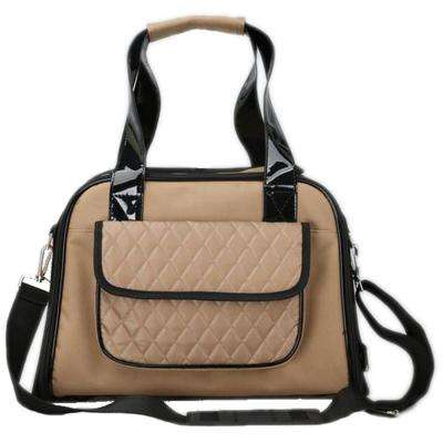 Brown Airline Approved Mystique Fashion Pet Carrier - Medium