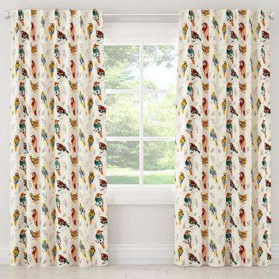 50 in. W x 120 in. L Blackout Curtain in Avery Multi