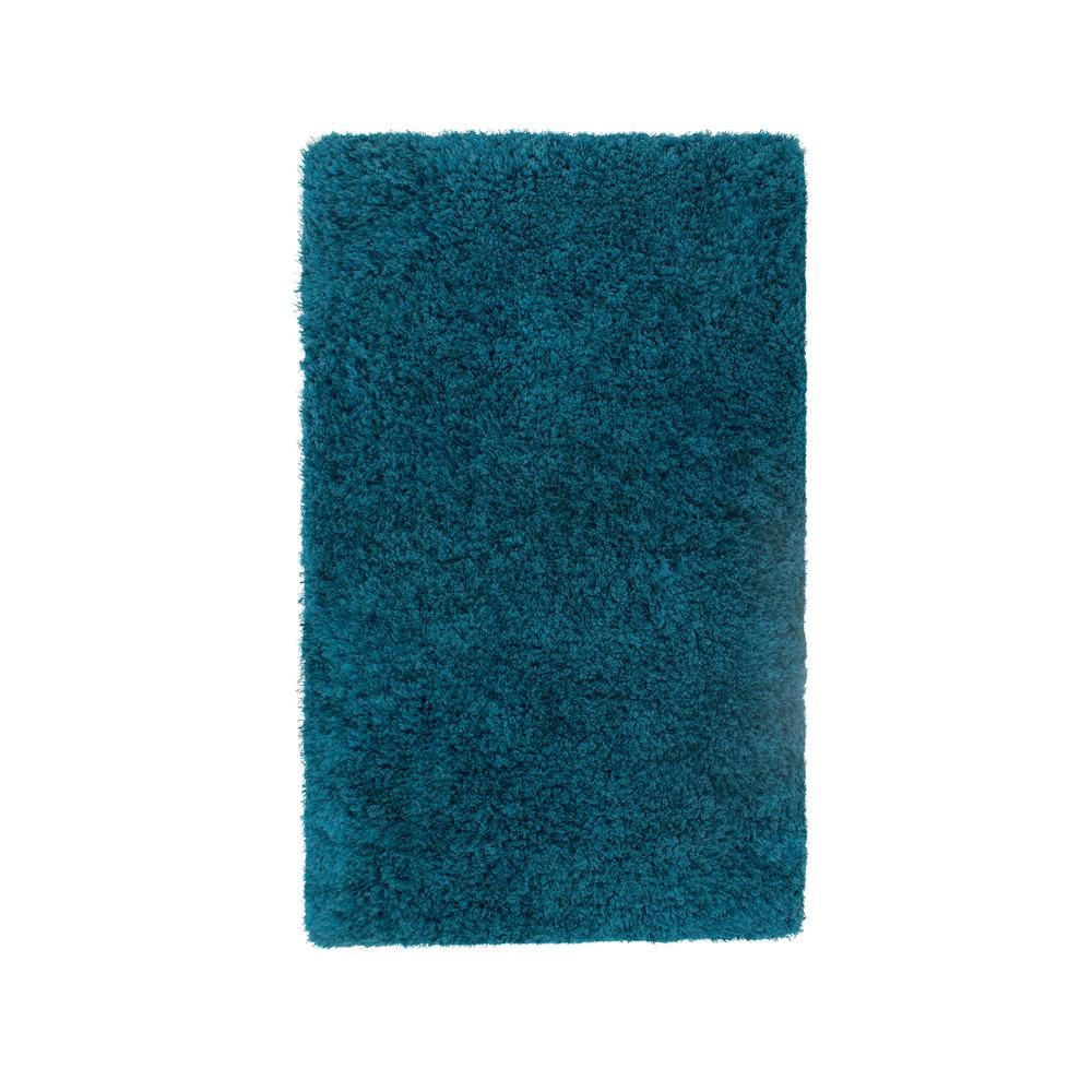 Claudia Teal 2 Ft X 3 Ft Indoor Accent Rug Yma006422