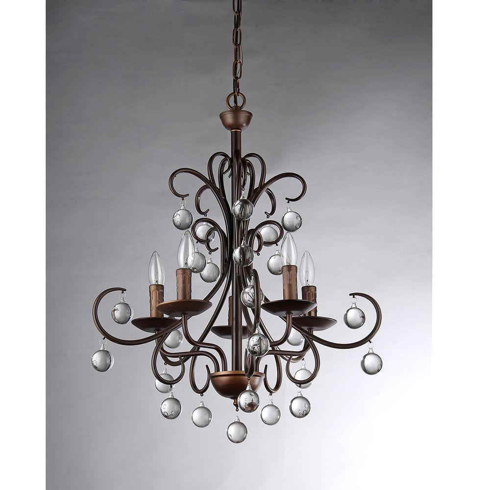 Warehouse of tiffany grace crystal drop curved 5 light antique warehouse of tiffany grace crystal drop curved 5 light antique bronze chandelier audiocablefo