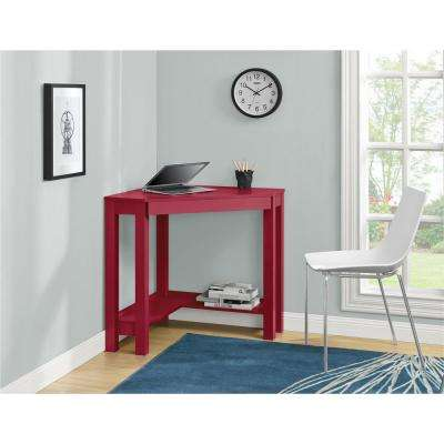 Parsons Red Desk