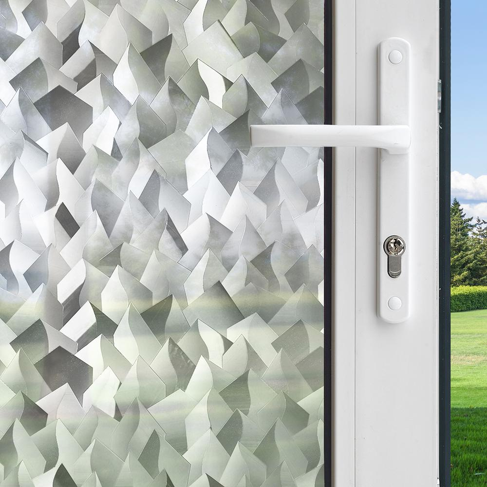 Gila 36 in. x 78 in. Privacy Control Crystal Decorative Window Film