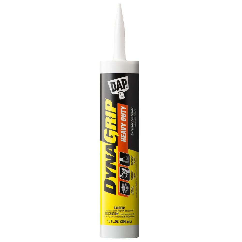 DAP DYNAGRIP 10oz. Heavy Duty Construction Adhesive (12-Pack)
