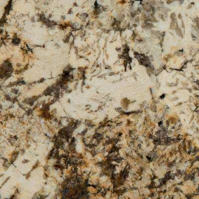 3 in. x 3 in. Granite Countertop Sample in Caravelas Gold