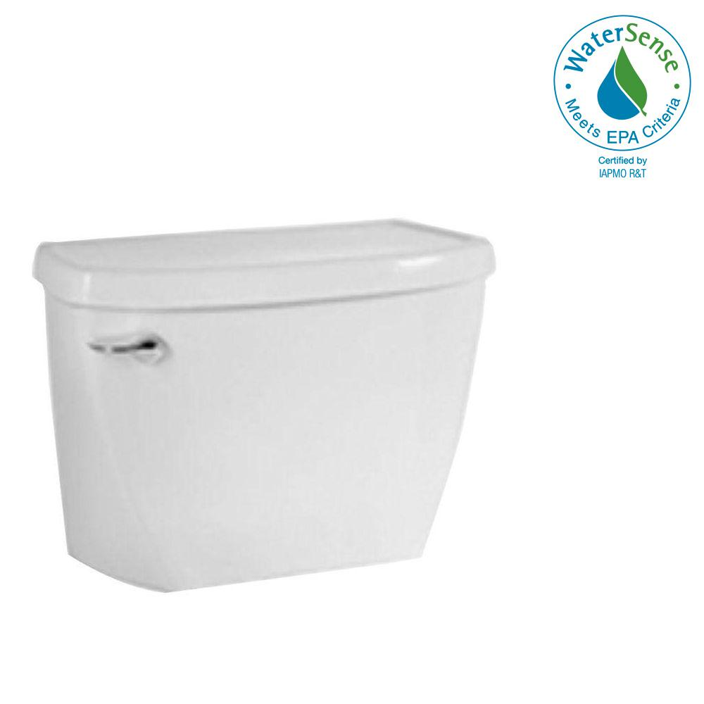 American Standard Yorkville Flowise Pressure Assisted 1 1 Gpf Single Flush Toilet Tank Only In White 4142 100 020 The Home Depot