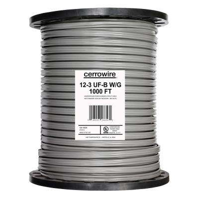 1,000 ft. 12/3 UF-B Wire