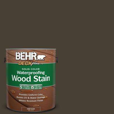 1 gal. #PPU5-20 Sweet Molasses Solid Color Waterproofing Wood Stain