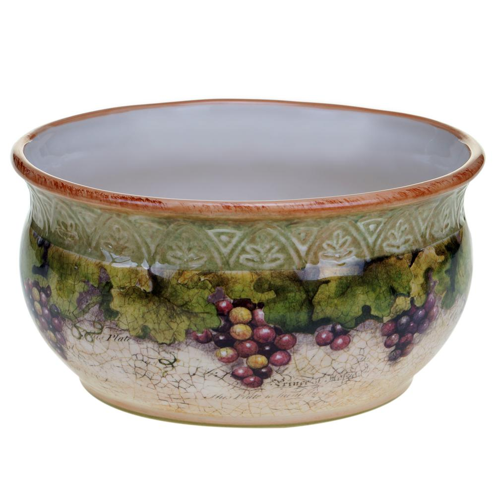 Sanctuary Wine Deep Serving Bowl