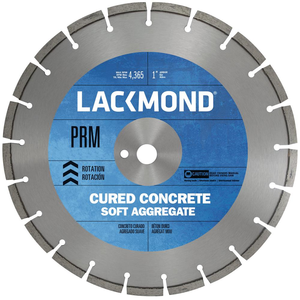 Premium CW20 Series Wet Cut Diamond Blade for Cured Concrete 12