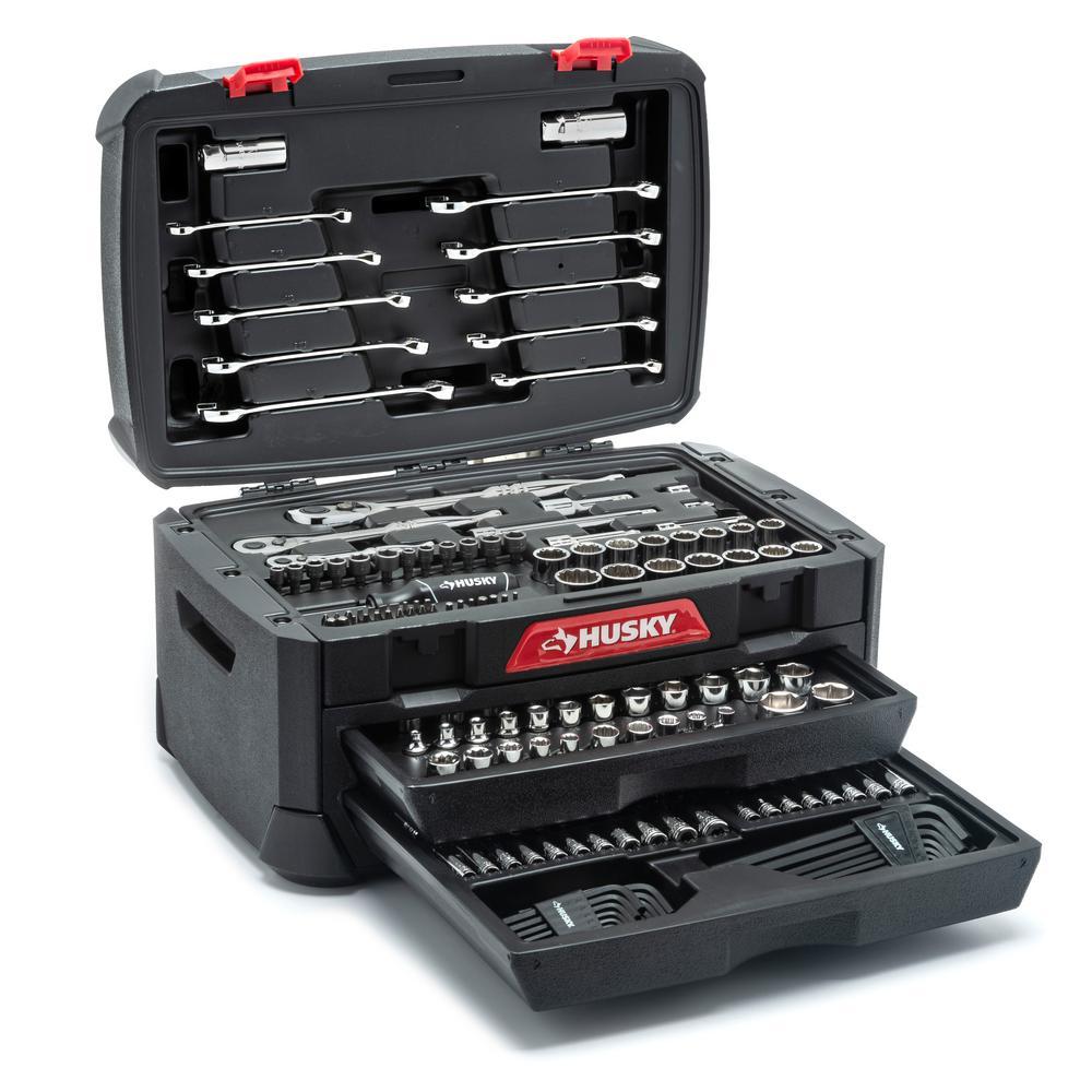 Husky Mechanic's Tool Set (230-Piece)-H230MTS - The Home Depot