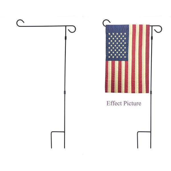 """Metal Stand For Yard Pennants Or Garden Flags 45/"""" Heavy Duty"""