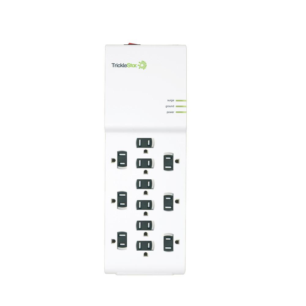 tricklestar 4 ft 12 outlet surge protector ts1202 the home depot rh homedepot com
