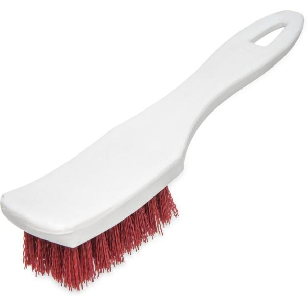 7.25 in. Polyester Small Scrub Brush in Red (12-Case)