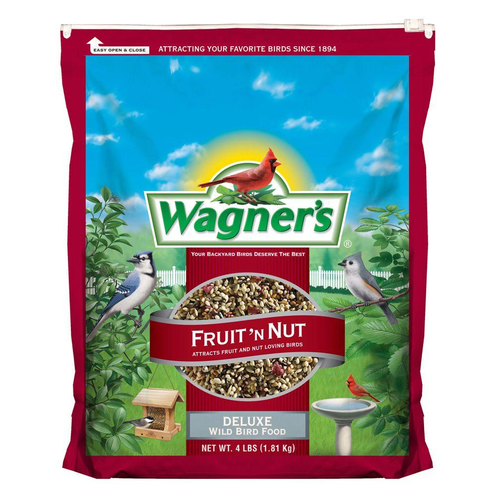Wagner's 4 lb. Fruit 'N Nut Wild Bird Food