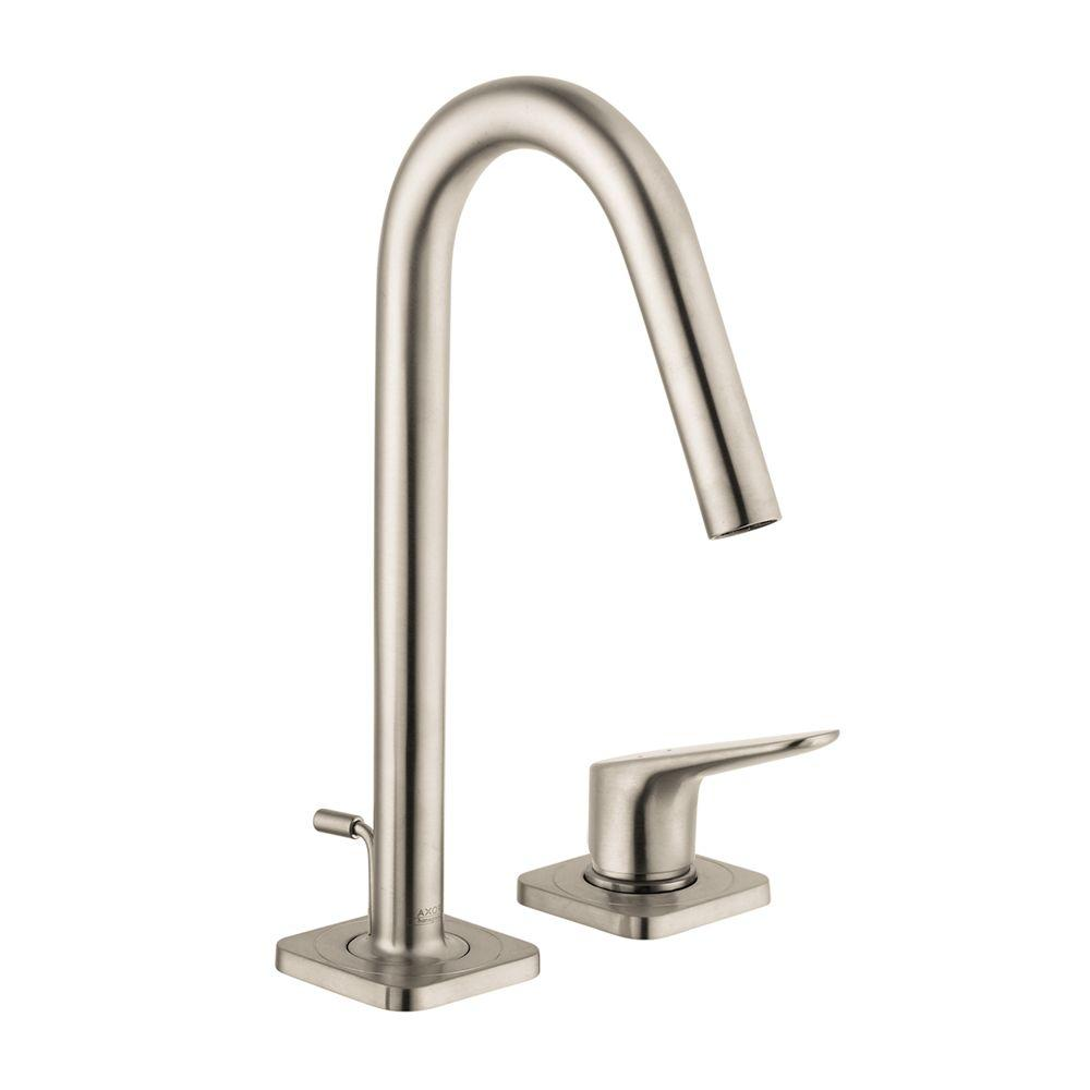 Hansgrohe Citterio M 4 In Minispread 1 Handle High Arc Bathroom Faucet In Brushed Nickel