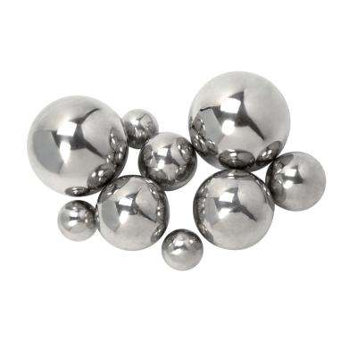 CKI Abbott Silver Steel Decorative Balls (Set of 9)