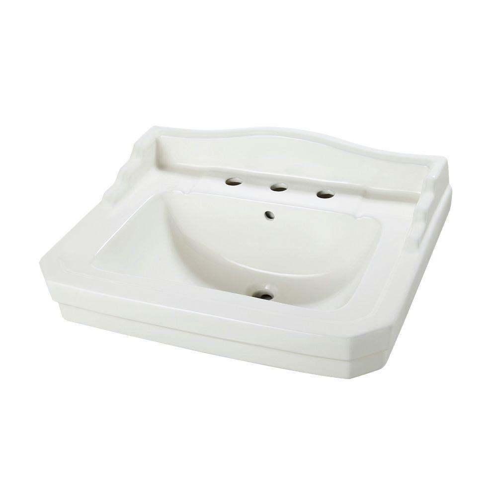 Foremost Series 1930 26 3 4 In Pedestal Sink Basin In