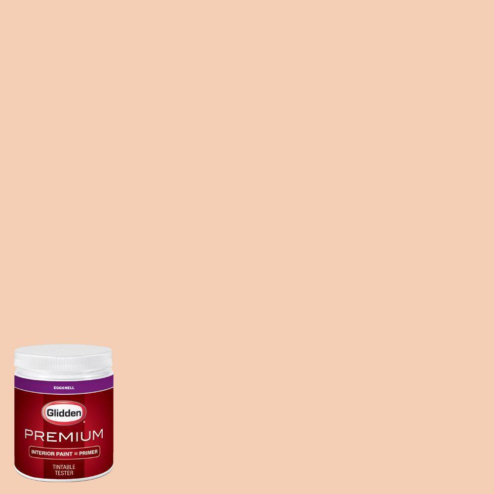 #HDGO32U Peach Chiffon Eggshell Interior Paint With Primer Tester