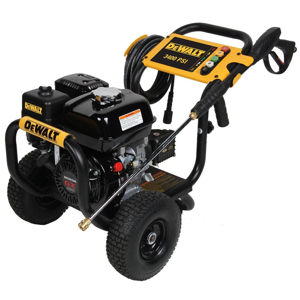 dewalt pressure washers 60690 64_1000 dewalt honda gx200 3,400 psi 2 5 gpm gas pressure washer 60690 the