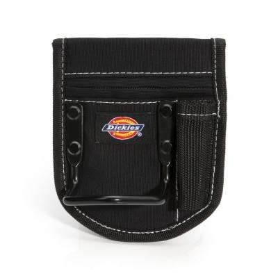 1-Pocket Steel Loop Hammer Holder Tool Pouch in Black